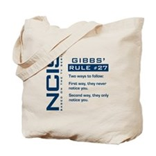 NCIS Gibbs' Rule #27 Tote Bag