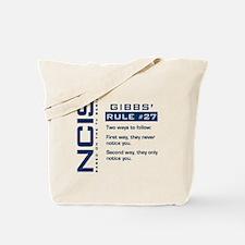 NCIS Gibbs' Rule #27 Tote Bag