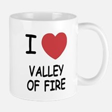 I heart valley of fire Mug