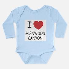 I heart glenwood canyon Long Sleeve Infant Bodysui