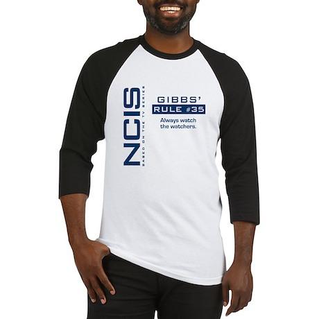 """NCIS Gibbs"""" Rule #35 Baseball Jersey"""