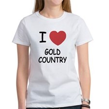 I heart gold country Tee