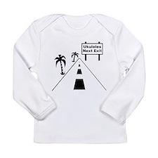 Ukulele Exit Long Sleeve Infant T-Shirt