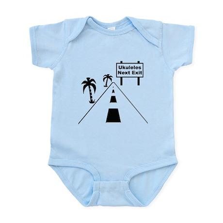 Ukulele Exit Infant Bodysuit