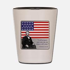 Lincoln Shot Glass