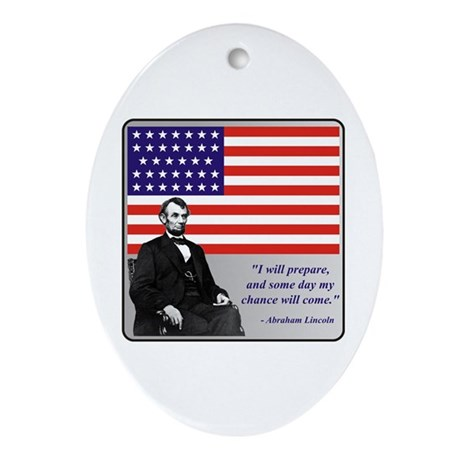 Lincoln Ornament (Oval)