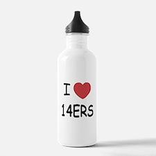 I heart 14ers Water Bottle