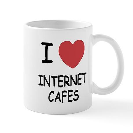 I heart internet cafes Mug