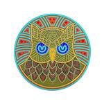 Vintage Owl Mandala 3.5