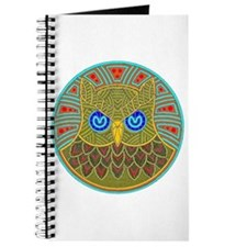 Vintage Owl Mandala Journal