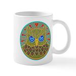 Vintage Owl Mandala Mug