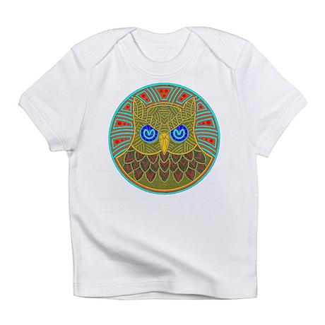 Vintage Owl Mandala Infant T-Shirt