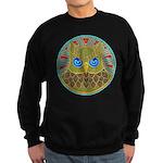 Vintage Owl Mandala Sweatshirt (dark)