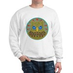 Vintage Owl Mandala Sweatshirt