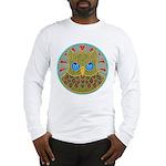 Vintage Owl Mandala Long Sleeve T-Shirt