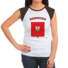 Bermuda Women's Cap Sleeve T-Shirt