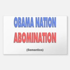 Obama Nation Abomination (Sem Decal