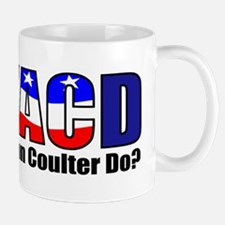 WWACD? - What would Ann Coulter Do? Mug