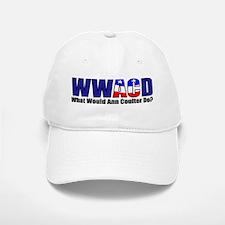 WWACD? - What would Ann Coulter Do? Baseball Baseball Cap