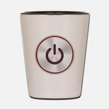 Power Button Shot Glass
