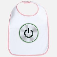 Power Button Bib