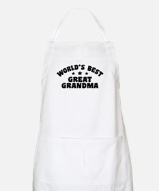 World's Best Great Grandma Apron