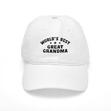 World's Best Great Grandma Baseball Cap