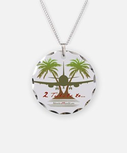 Cute Palm trees Necklace