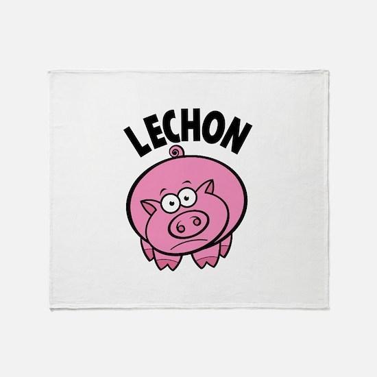 Lechon Throw Blanket