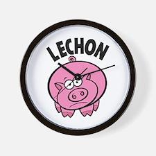 Lechon Wall Clock