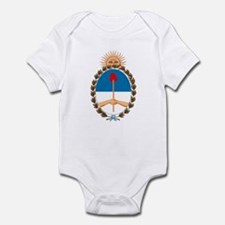 Argentina Coat of Arms Infant Creeper