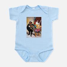 Roosevelt Bears Play Shakespeare Infant Bodysuit