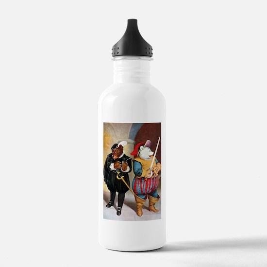 Roosevelt Bears Play Shakespeare Water Bottle