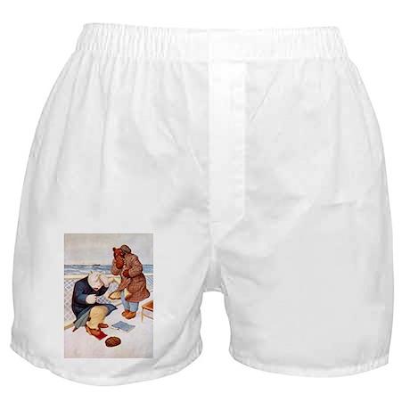 Roosevelt Bears Get Seasick Boxer Shorts