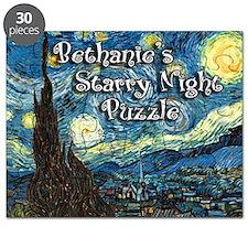 Bessie's Starry Night Puzzle