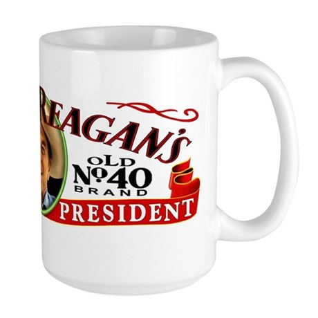 Ronald Reagan's - No. 40 Large Mug