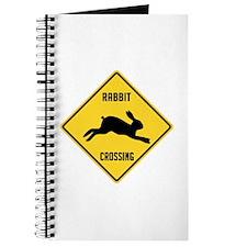 Rabbit Crossing Sign Journal