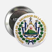 """El Salvador Coat of Arms 2.25"""" Button (10 pack)"""