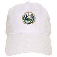 El Salvador Coat of Arms Baseball Cap