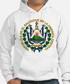El Salvador Coat of Arms Hoodie