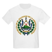 El Salvador Coat of Arms Kids T-Shirt