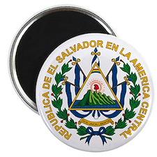 """El Salvador Coat of Arms 2.25"""" Magnet (10 pack)"""
