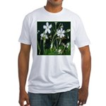 Blooming Shamrocks Fitted T-Shirt