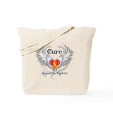 Cure Appendix Cancer Tote Bag