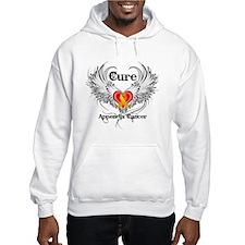 Cure Appendix Cancer Hoodie