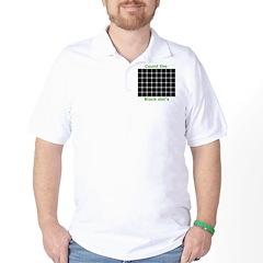Count the black dot's, Golf Shirt
