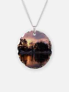 Mississippi River Dawn Necklace