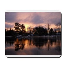 Mississippi River Dawn Mousepad