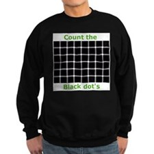 Count the black dot's, Sweatshirt