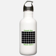 Count the black dot's, Water Bottle